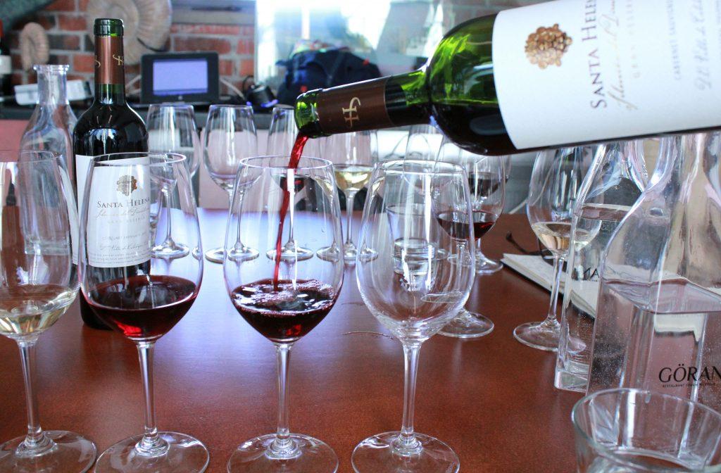 Santa Helenan viinit